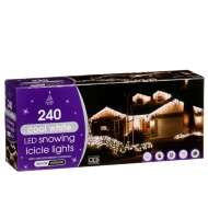 christmas lights icicles 720 led instore at B&M for £24.99