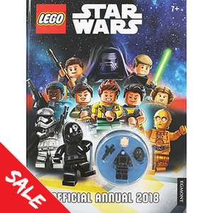 Lego Star Wars Annual 2018 With Imperial Gunner Minifigure for £1.50 @ The Works