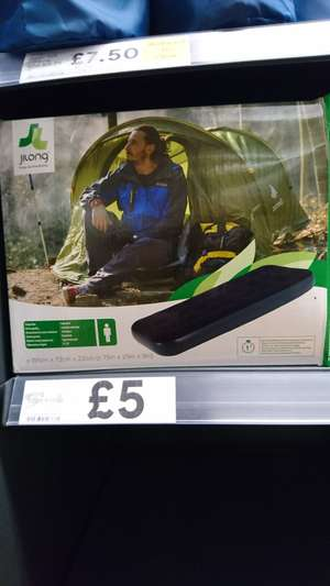 Air bed instore at @ tesco reduced to £5