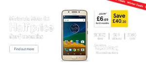 Half Price Moto G5 for 6 months at £6.69 (remainder 24 months @ £13.39) total cost - £361.50 @ Tesco Mobile