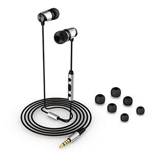 Senzer H1 Bass Earbuds Earphones High Definition Sold by Senzer UK and Fulfilled by Amazon for £8.99 Prime (£12.98 non Prime)