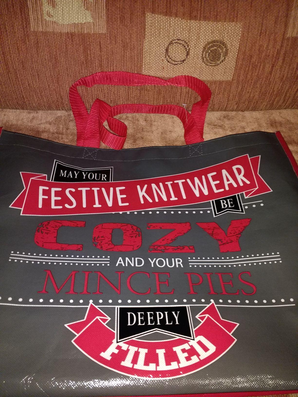 Festive bag for life instore at Poundland for 25p