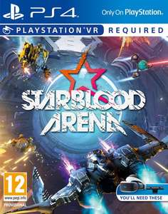 Heads up. Starblood Arena VR PS4 Free! in January's PS Plus games.