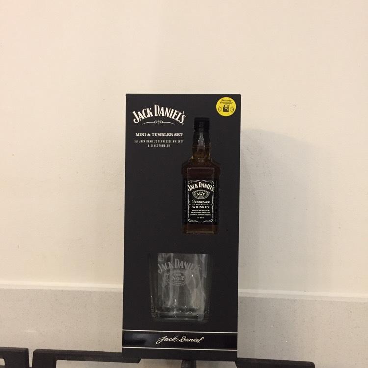 Jack Daniels mini and tumbler set 5cl bottle £2.50 instore @ Tesco