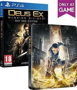 Deus Ex Mankind Divided Steelbook Edition ps4 and xbox one £5.99 @ Game