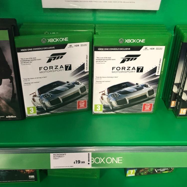 Forza 7 Xbox One £19.99 @ Currys