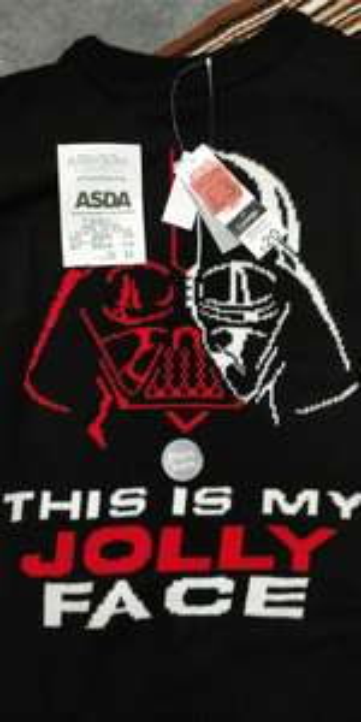 Asda Darth Vader Christmas Jumper was £20 now £3 instore @ Asda