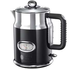RUSSELL HOBBS Retro in Black Cream or Red