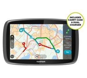 TomTom Go 510 5inch Traffic Sat Nav World Maps & Case  £119.99  Argos