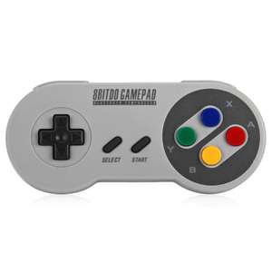 Retro Bluetooth Gamepad Pro Game Controller for iOS Android PC Mac Linux £15.15 @ Dresslily