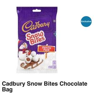 Cadbury's Snow Bites Family Pack Reduced to £1.50 @ Asda