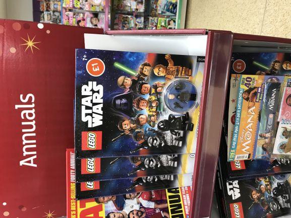 Lego Star Wars 2018 annual -£1 at Sainsburys