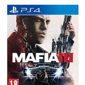 Mafia 3 - £11.99 PS4/Xbox one @Sainsburys