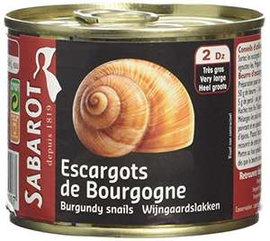 Sabarot Finest Burgundy Snails 200 g £8.16 Prime / £12.15 Non Prime @ Amazon