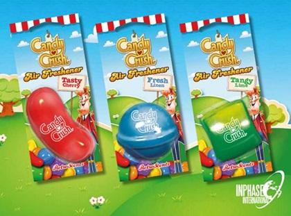 Candy crush car air freshener instore Tesco Wath was £2.50 now £0.75