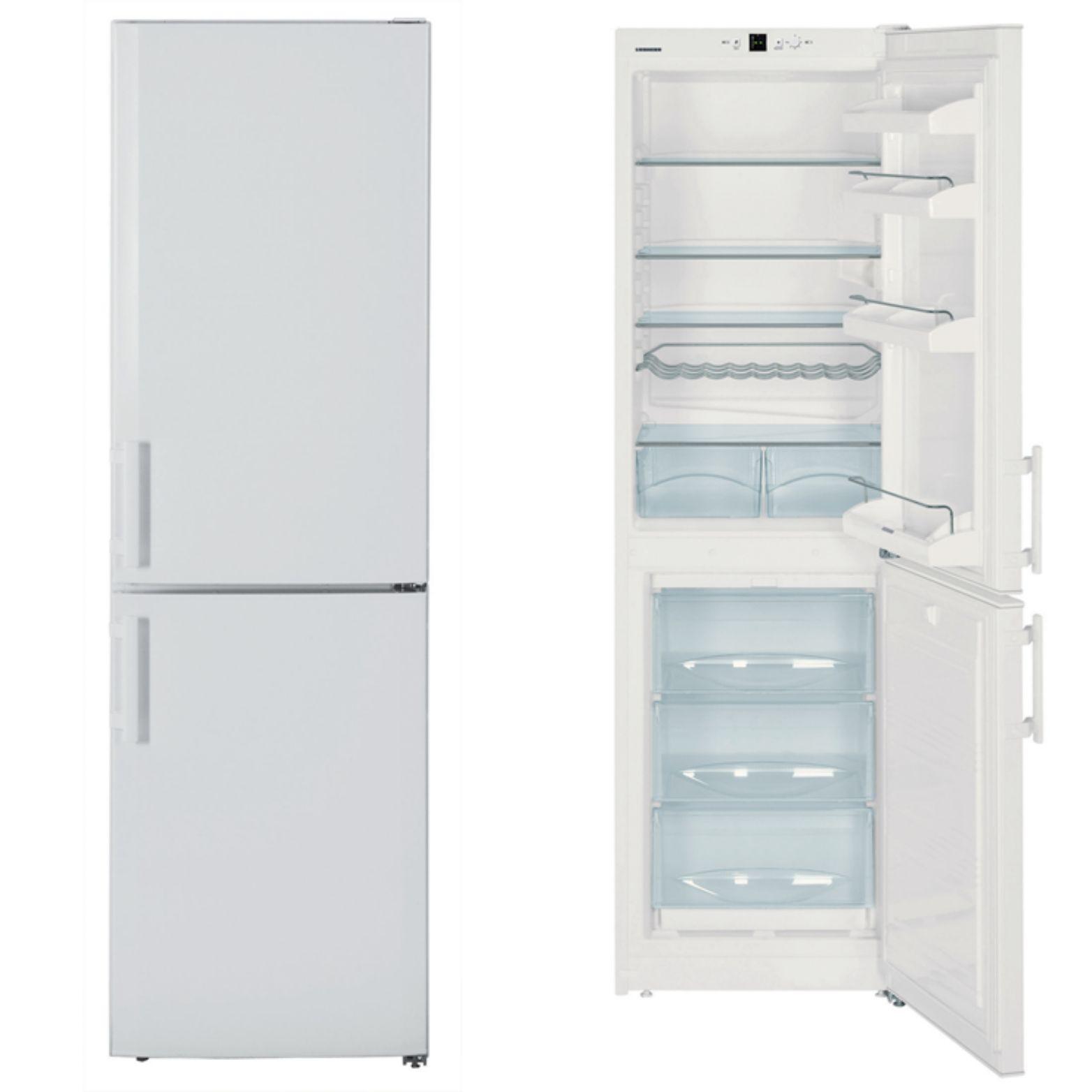 Liebherr CUN3033 55cm A+ Frost Free Fridge Freezer in White £248.99 @ CoOp