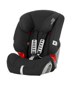 Britax Römer evolva 1-2-3 high back booster car seat with harness - cosmos black £72.50 @ Mothercare