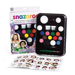 Snazaroo Face Paint Ultimate Party Pack - Multi-Coloured Amazon Prime