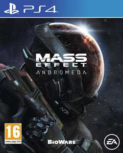 Mass Effect: Andromeda  PS4/XboxOne £15.56 inc postage @ Gamestop