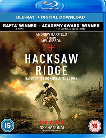 Hacksaw Ridge on Blu-Ray £6.99 from Amazon UK. Price has fallen to