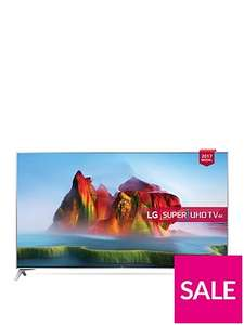 LG 49SJ800V 49 Inch, 4K Ultra HD Certified HDR, Freeview Play, Smart TV £599 @ Very