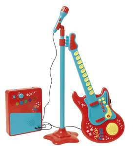 Carousel Red Rock Star Guitar with Microphone and Amp. Was £19. Now £13.25 C+C @ Tesco Direct.