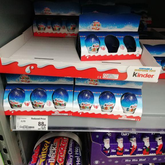 Kinder eggs 6 pack 88p instore @ asda
