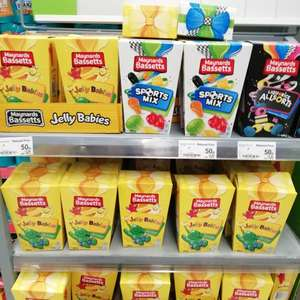 Bassett jelly babies, Maynard's sports mix, Maynard's all sorts 50p instore @ asda