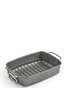 "M&S ""Roast & Rack"" and roasting trays online from £9"