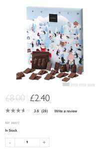 Hotel Chocolat advent calendar now £2.40 was £8 & UP TO 50% OFF SALE