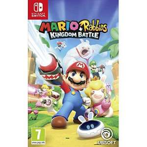 Mario + Rabbids Kingdom Battle Switch game £32.50 at Coolshop