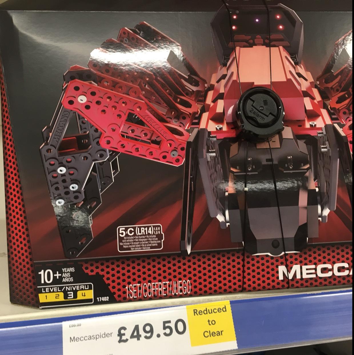 Meccano Meccaspider @ Tesco extra Seacroft Leeds - £49.50