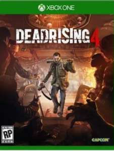 Xbox One Dead Rising 4 Deluxe Edition - £21.45 with gold £26 without @ Microsoft Store