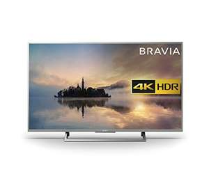 Sony Bravia KD55XE7073 4K HDR Smart TV (X-Reality PRO for Enhanced Clarity, Texture and Detail Picture Quality, 2017 Model) - 55 inch, Silver [Energy Class a_plus] [Energy Class A+] - £529 @ Amazon Prime Exclusive