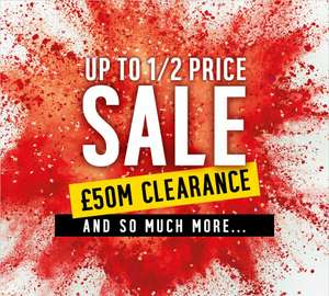 JANUARY SALE 2018: 1/2 price sale is here! @ Argos
