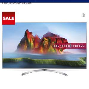 "LG TV 65SJ810V 65"" Smart 4K Ultra HD HDR LED TV - £1,099 @ Currys"