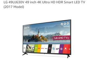 LG 49 in Smart UHD 4k tv (25% off) - £399 @ Amazon