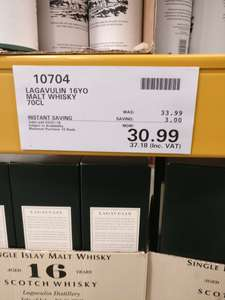 Lagavilin 16 years - £37.18 instore @ Costco