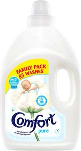 Comfort Pure or Blue Skies Fabric Conditioner (85 Wash = 3L) Half Price was £6.00 now £3.00 @ Tesco