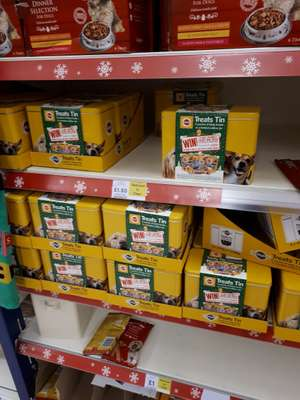 Pedigree Treat Tin - £1.50 instore @ Tesco (Bury)