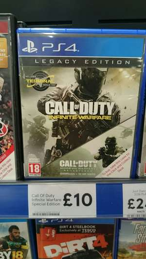 Call of Duty legacy edition - Modern Warfare Remastered @tesco instore - £10