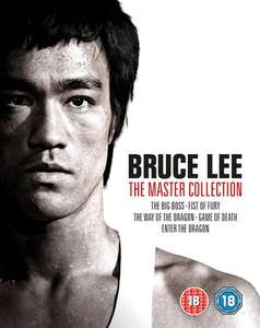 Bruce Lee: The Master Collection blu ray box set £29.69 with code at Zoom