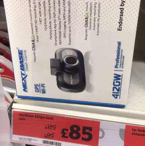 Nextbase 412gw only £85 @ Sainsbury's in store only