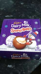 Cadbury snow balls instore at B&M for £1