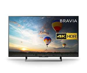 Sony Bravia KD43XE8004 43 inch TV - Amazon for £489
