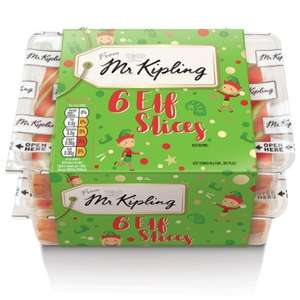 Mr Kipling Elf Slices 6pk was £0.99 now 49p @ B&M (BBE 24/12)