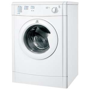 Indesit IDV75 Vented Tumble Dryer, 7kg Load, B Energy Rating, White @ John Lewis for £159