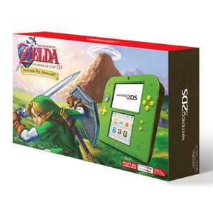 Special Edition Green Nintendo 2DS inc Legend of Zelda: Ocarina of Time 3D £82.17 inc shipping at Amazon US