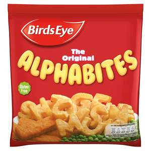 Birds Eye The Original Alphabites (456g) One Pack is £1.50 but buy 2 for £2.00 @ Iceland