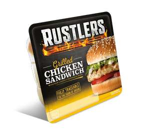 Rustlers Grilled Chicken Sandwich (150g size)-2 for £1 at Heron Foods